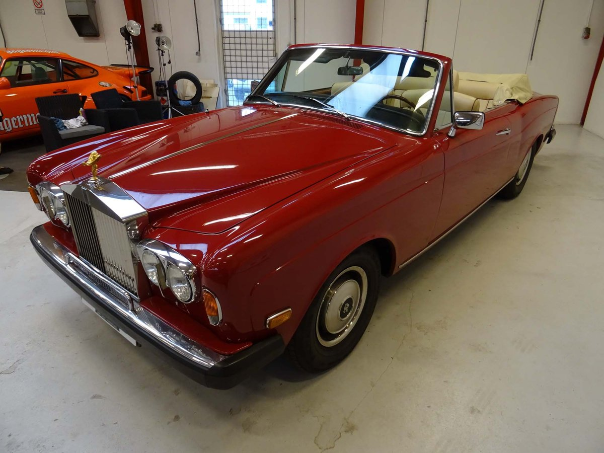1969 Rolls-Royce Silver Shadow Cabriolet Drophead Coupe For Sale (picture 3 of 6)