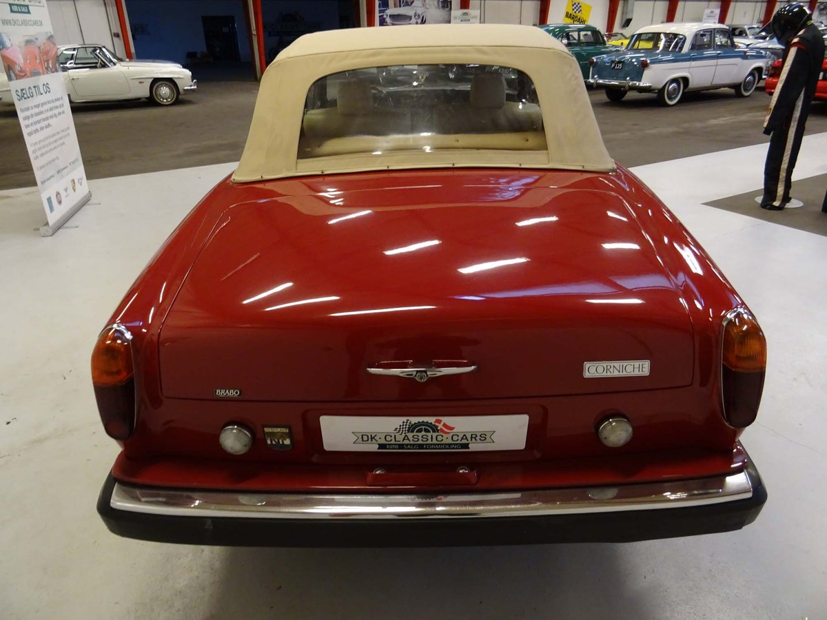 1969 Rolls-Royce Silver Shadow Cabriolet Drophead Coupe For Sale (picture 4 of 6)