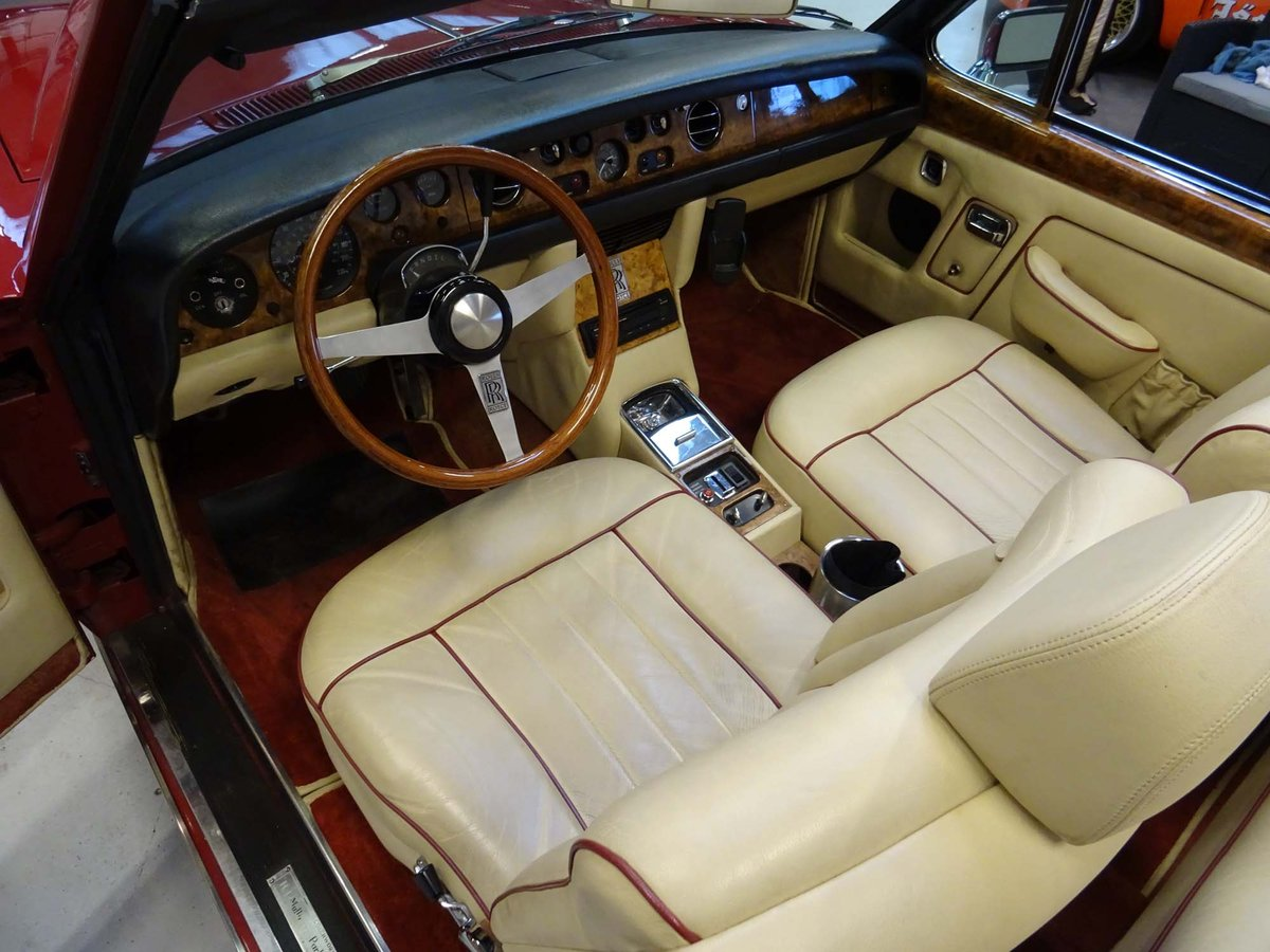 1969 Rolls-Royce Silver Shadow Cabriolet Drophead Coupe For Sale (picture 5 of 6)