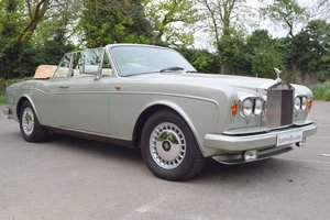 1986 C Rolls Royce Corniche Convertible in Aurora  For Sale