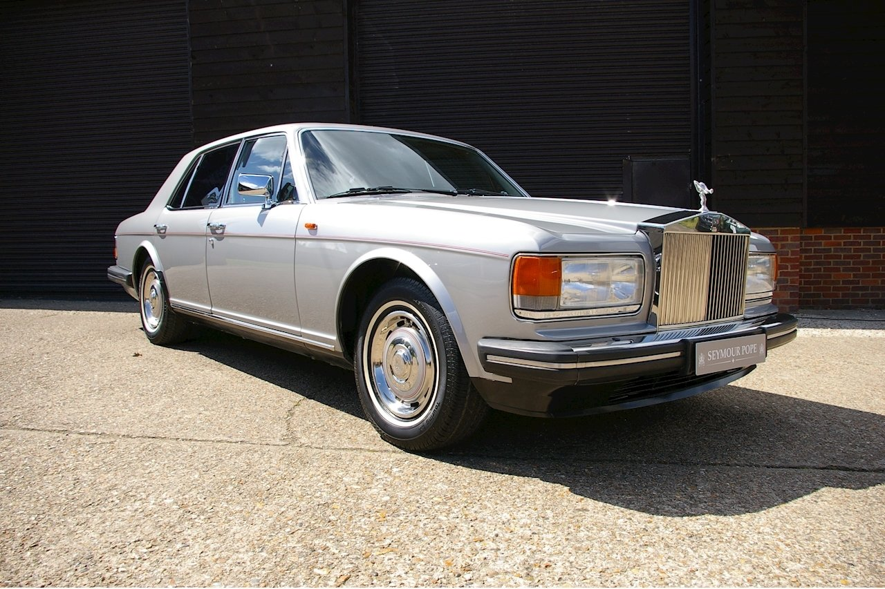 1987 Rolls Royce Silver Spirit I Saloon Auto LHD (24,526 miles) For Sale (picture 1 of 6)