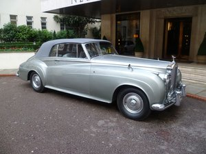 1962 Rolls- Royce Silver Cloud 11 Mulliner convertible