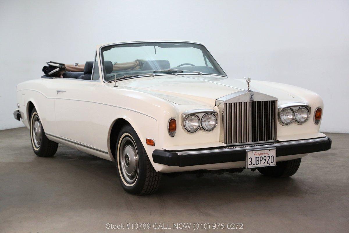 1976 Rolls Royce Corniche Convertible For Sale (picture 1 of 6)