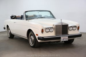 1976 Rolls Royce Corniche Convertible For Sale