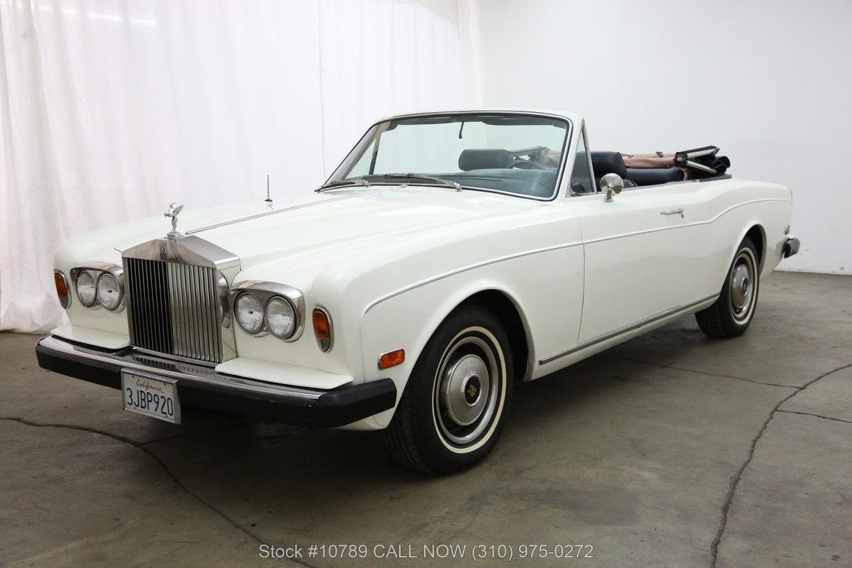 1976 Rolls Royce Corniche Convertible For Sale (picture 3 of 6)