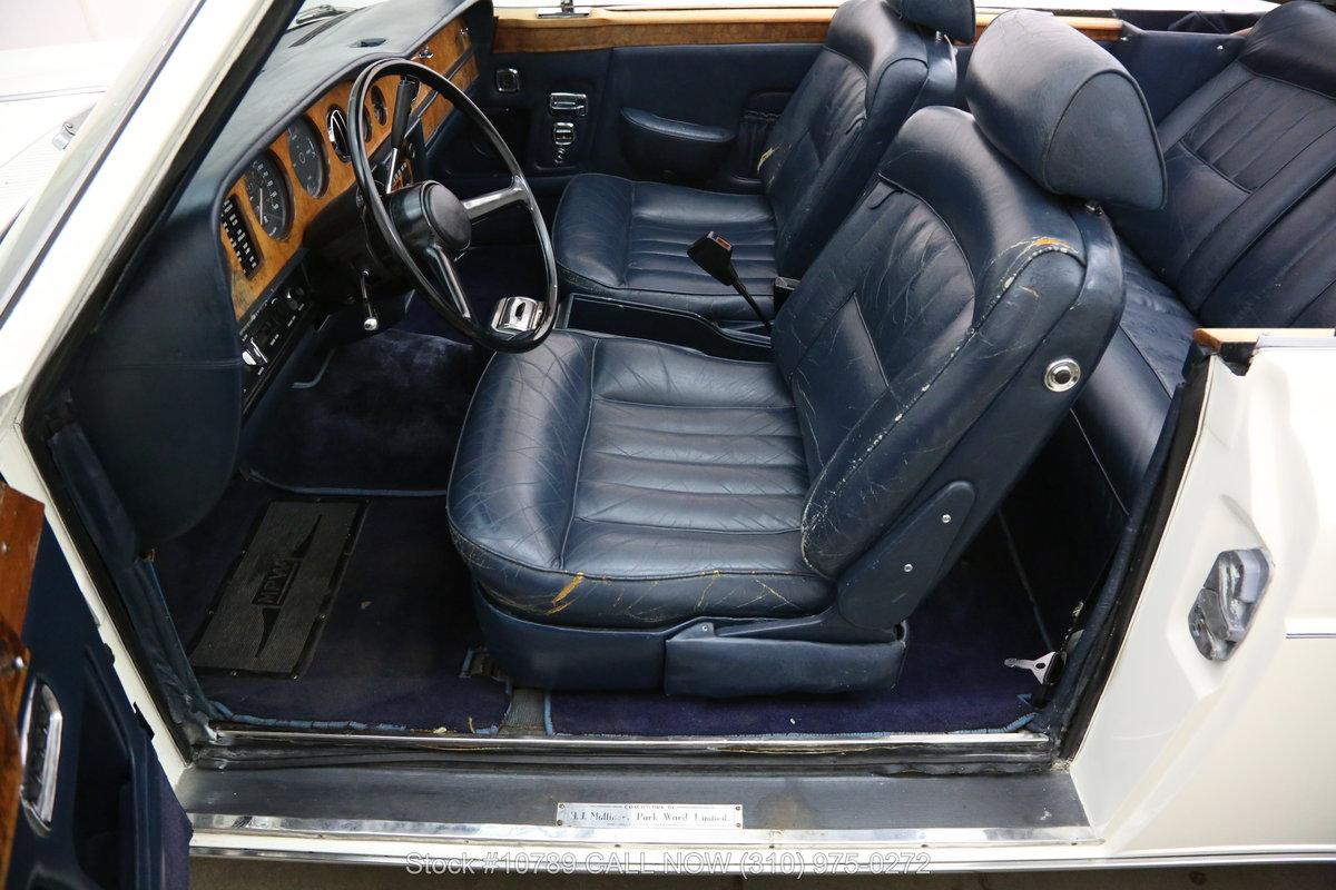 1976 Rolls Royce Corniche Convertible For Sale (picture 4 of 6)