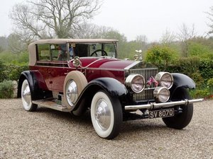 1927 Rolls-Royce Phantom I All-Weather Cabriolet by Murphy For Sale by Auction
