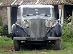 1937 Rolls-Royce Phantom III Sports Saloon For Sale by Auction
