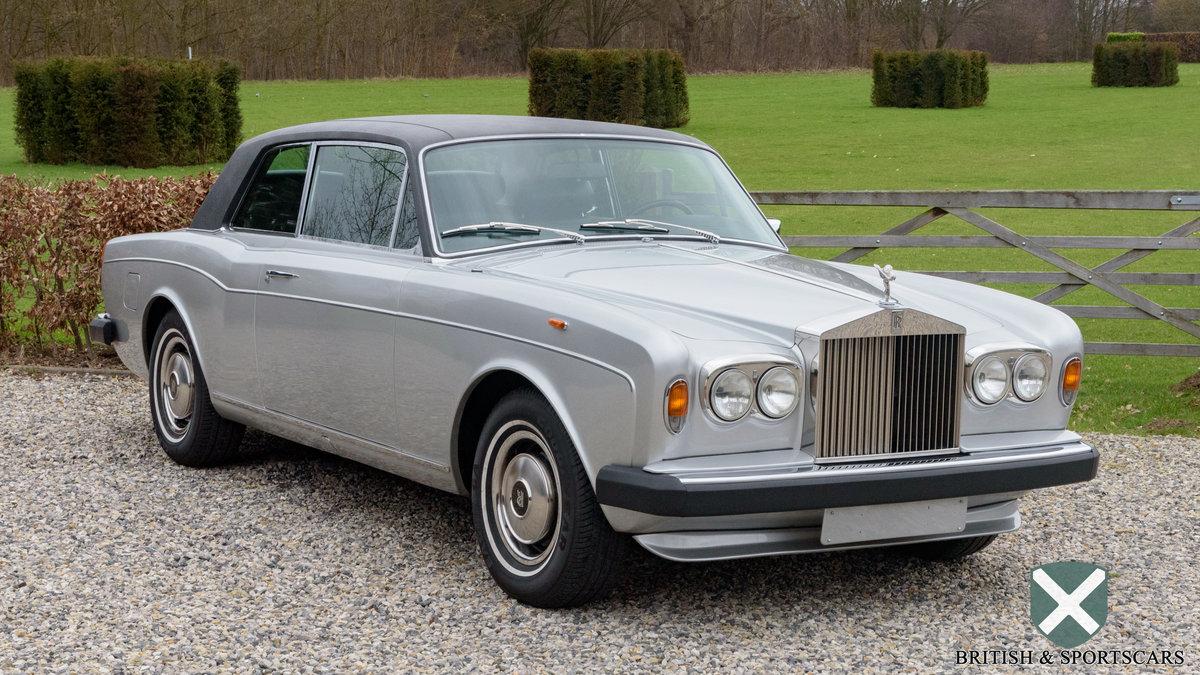 Rolls-Royce Corniche Coupe Series 2 (1978) For Sale (picture 1 of 6)