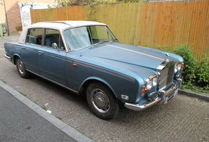 1973 Rolls Royce Silver Shadow, Dry Stored For Many Years SOLD