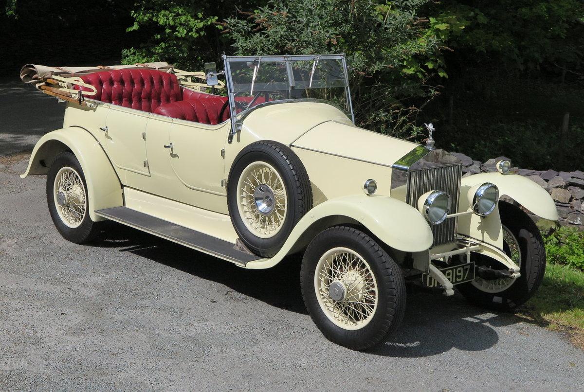 1925 Rolls-Royce 20hp Horsfield Open Tourer GPK4 For Sale (picture 1 of 6)