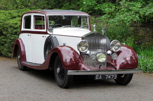 1936 Rolls-Royce 20/25 Hooper Saloon GBK22 For Sale