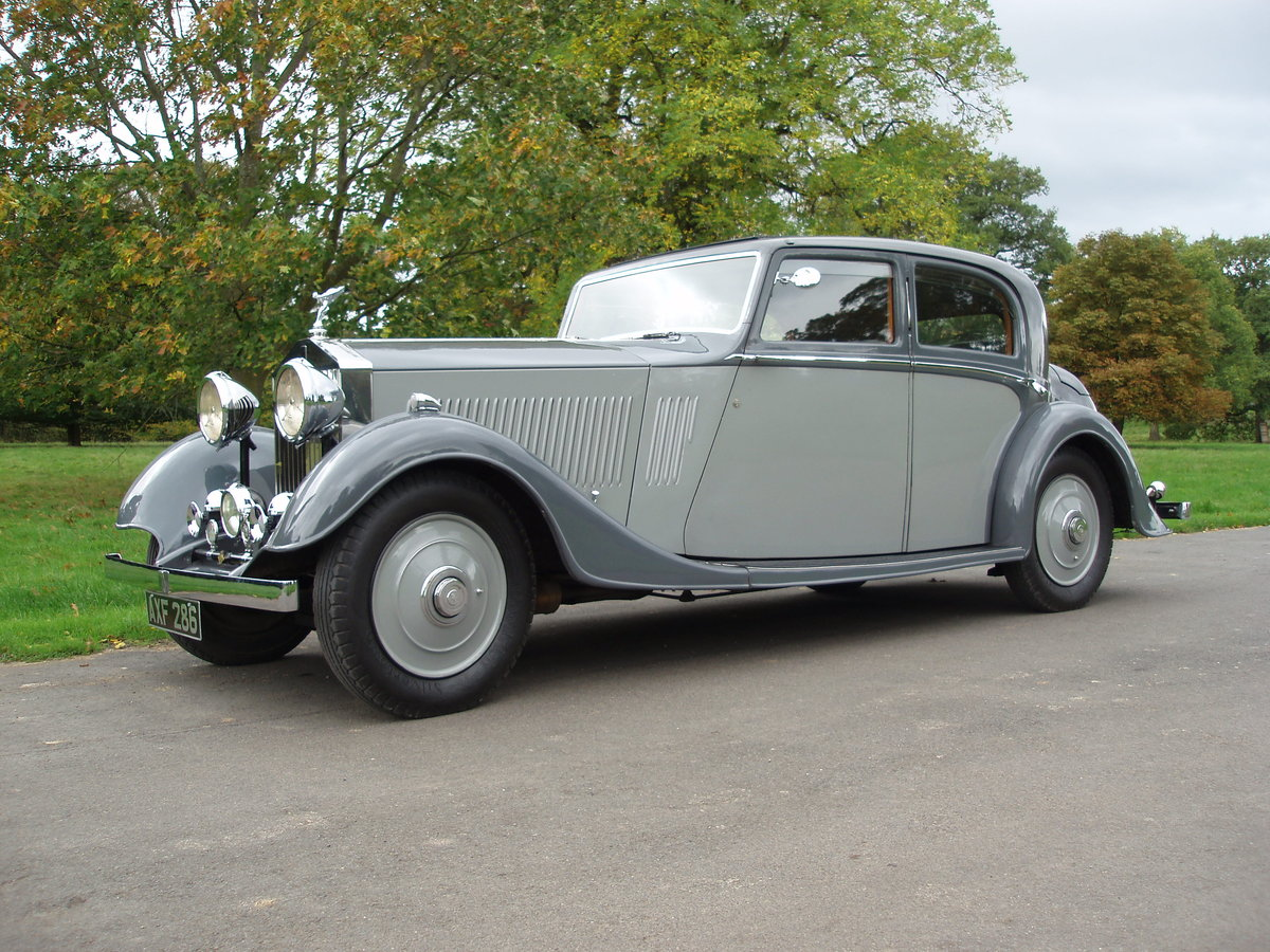 1933 Rolls Royce 20/25 SOLD (picture 1 of 6)
