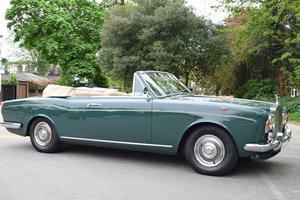 1968 Rolls Royce MPW Convertible in Fern Green