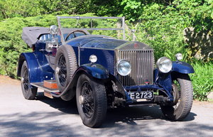 1926 Rolls-Royce Phantom I Four Door Dual Cowl Tourer 80YC