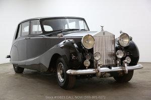 1954 Rolls-Royce Silver Wraith Limousine by Hooper