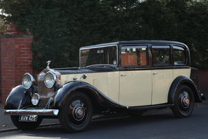 1934 Rolls Royce 20/25 Limousine For Sale