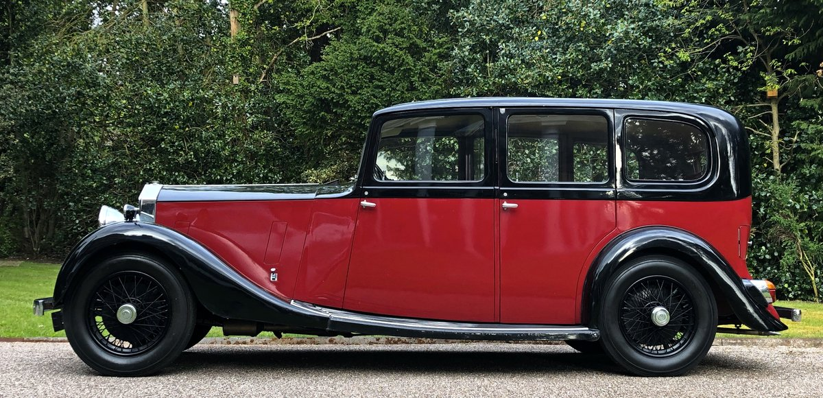1935 ROLLS ROYCE 20/25 HOOPER LWB LIMOUSINE ( 7 Seats ) For Sale (picture 1 of 6)