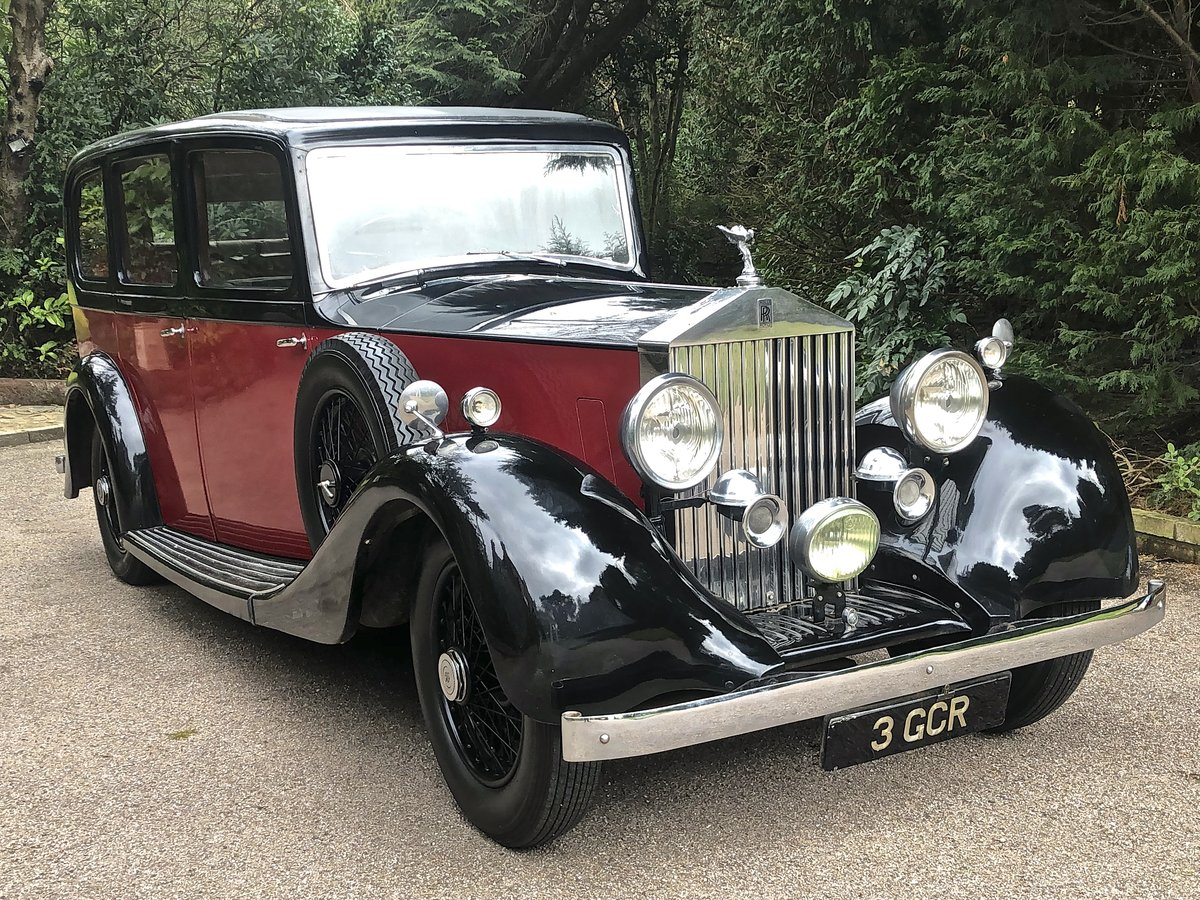 1935 ROLLS ROYCE 20/25 HOOPER LWB LIMOUSINE ( 7 Seats ) For Sale (picture 2 of 6)