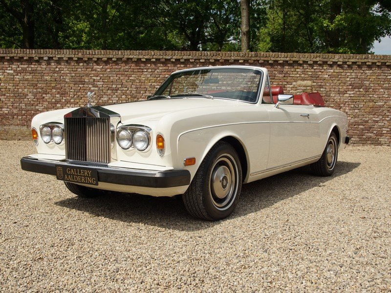 1982 Rolls Royce Corniche Series 2 matching numbers, very origina For Sale (picture 1 of 6)