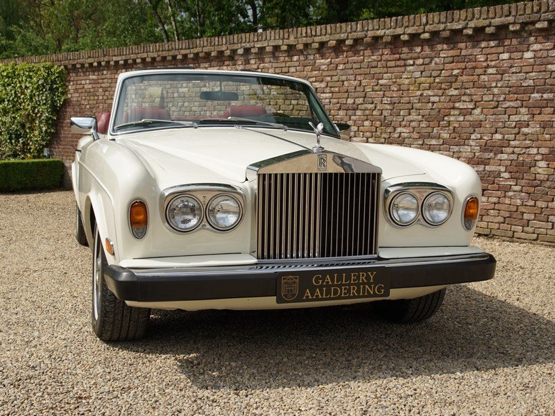1982 Rolls Royce Corniche Series 2 matching numbers, very origina For Sale (picture 5 of 6)
