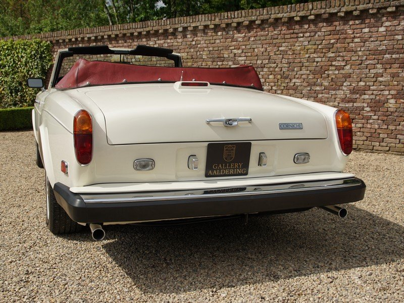 1982 Rolls Royce Corniche Series 2 matching numbers, very origina For Sale (picture 6 of 6)