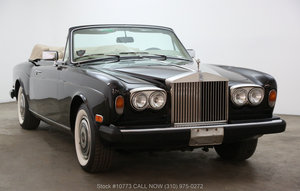 1983 Rolls-Royce Corniche For Sale