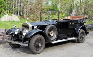 1926 Rolls-Royce 20hp 3pos Barker Cabriolet de Ville GHJ79 For Sale