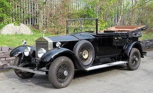 1927 Rolls-Royce 20hp 3pos Barker Cabriolet de Ville GHJ79
