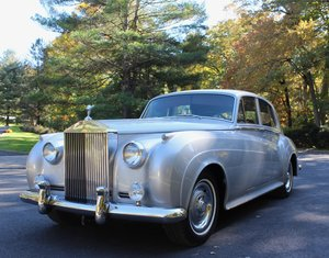 1958 Silver Cloud I LHD Magnificent Low Miles