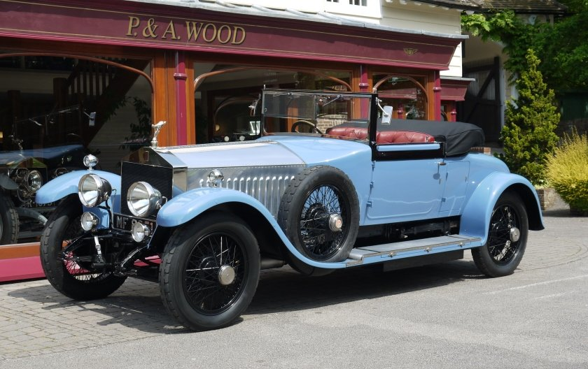 Rolls-Royce Silver Ghost 1924 Drophead Coupe by Park Ward For Sale (picture 1 of 4)