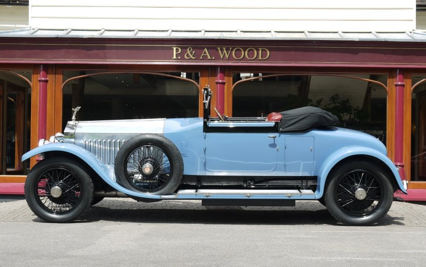 Rolls-Royce Silver Ghost 1924 Drophead Coupe by Park Ward For Sale (picture 2 of 4)