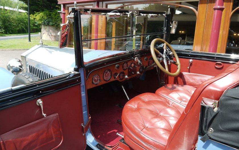 Rolls-Royce Silver Ghost 1924 Drophead Coupe by Park Ward For Sale (picture 3 of 4)