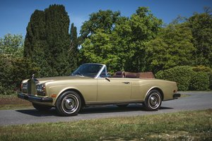 1982 Rolls-Royce Corniche cabriolet For Sale by Auction