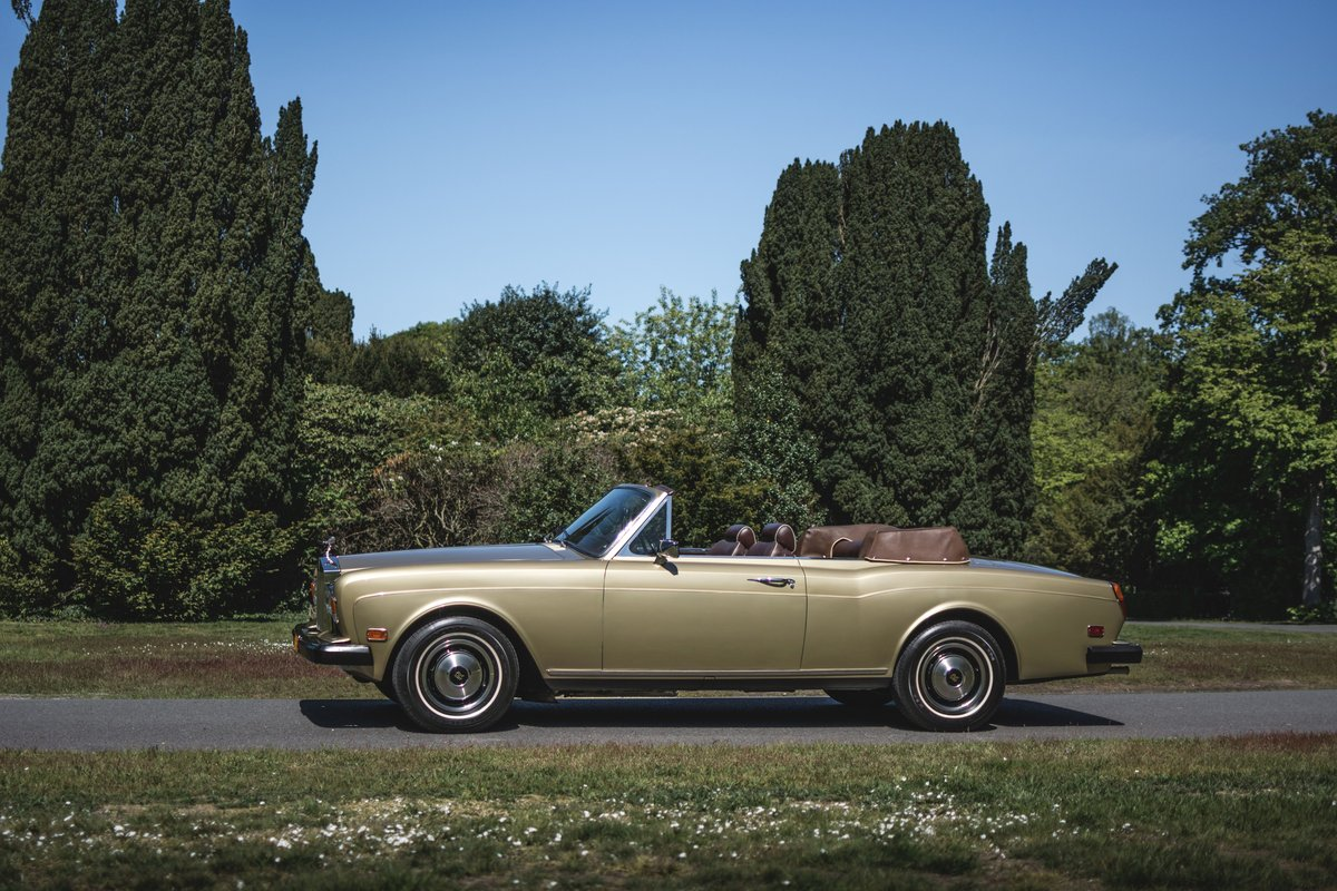 1982 Rolls-Royce Corniche cabriolet For Sale by Auction (picture 3 of 6)