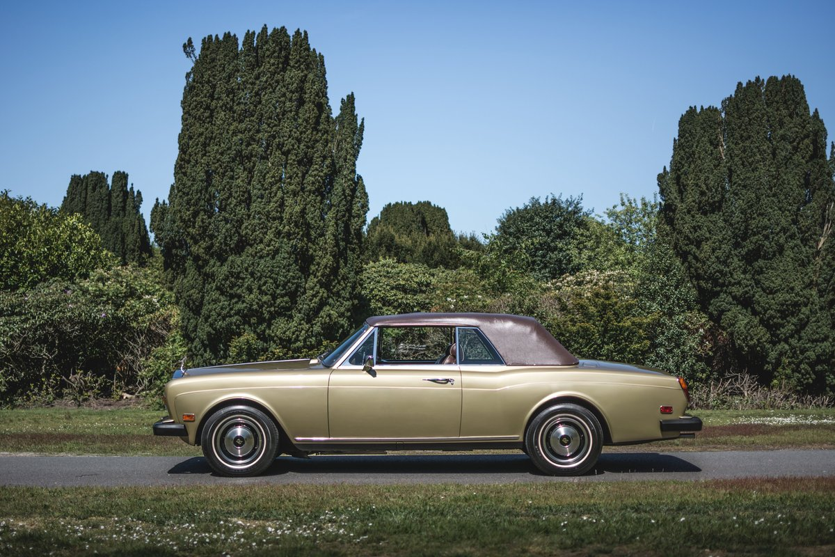 1982 Rolls-Royce Corniche cabriolet For Sale by Auction (picture 4 of 6)