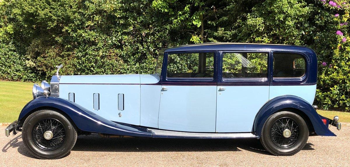 1934 ROLLS ROCYE PHANTOM II Park Ward Limousine  For Sale (picture 2 of 6)