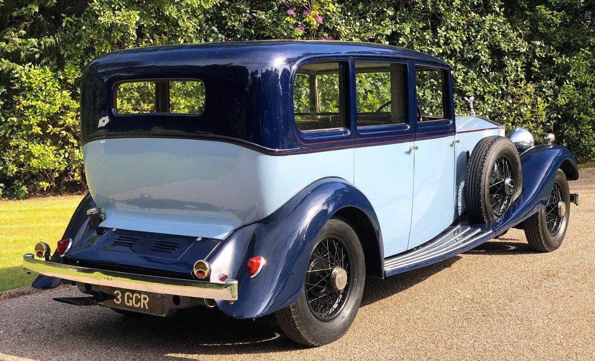 1934 ROLLS ROCYE PHANTOM II Park Ward Limousine  For Sale (picture 3 of 6)