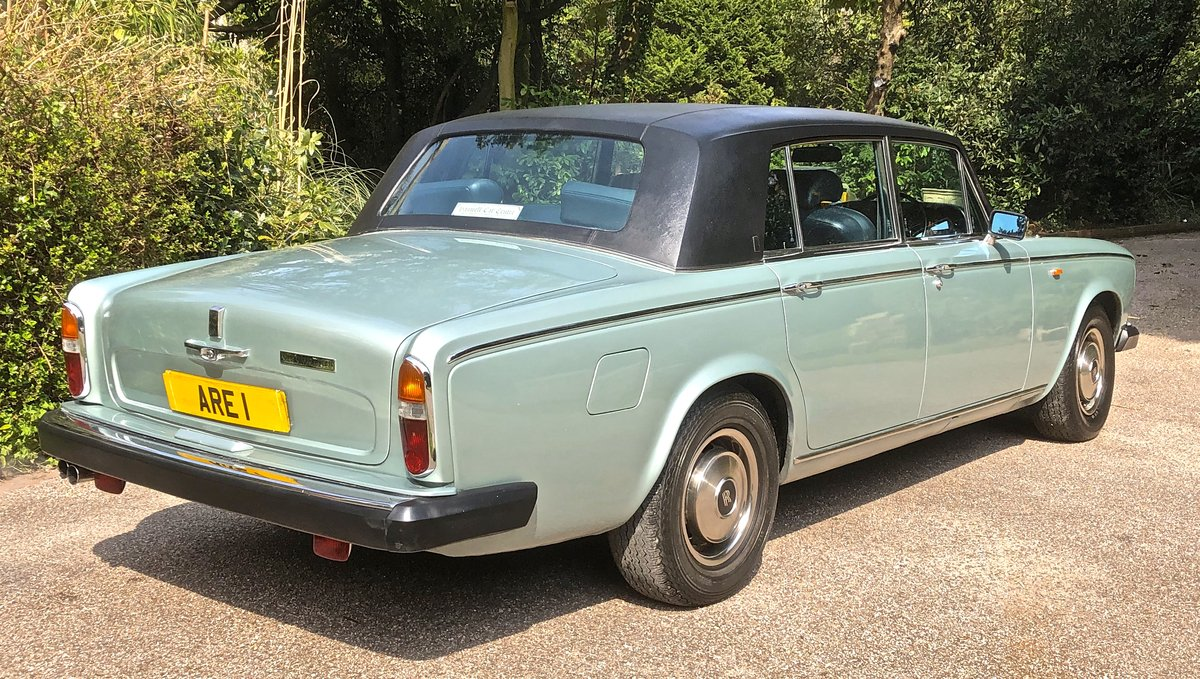 1979 ROLLS ROYCE SILVER WRAITH II 18K MILES 1 OWNER 35 YEARS For Sale (picture 4 of 6)