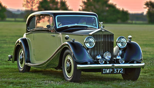 1936 Rolls-Royce 20/25 Sports Coupé by Coachcraft For Sale