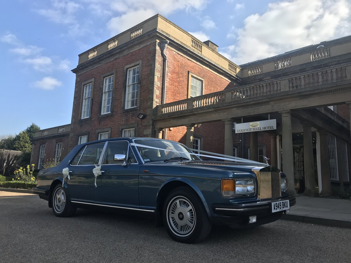 1983 Classic Rolls-Royce, wedding car hire Nottingham For Hire (picture 5 of 6)