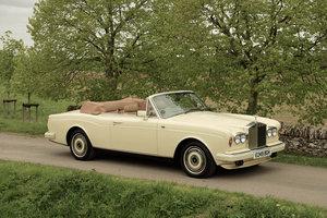 1988 Rolls-Royce Corniche LL Convertible For Sale