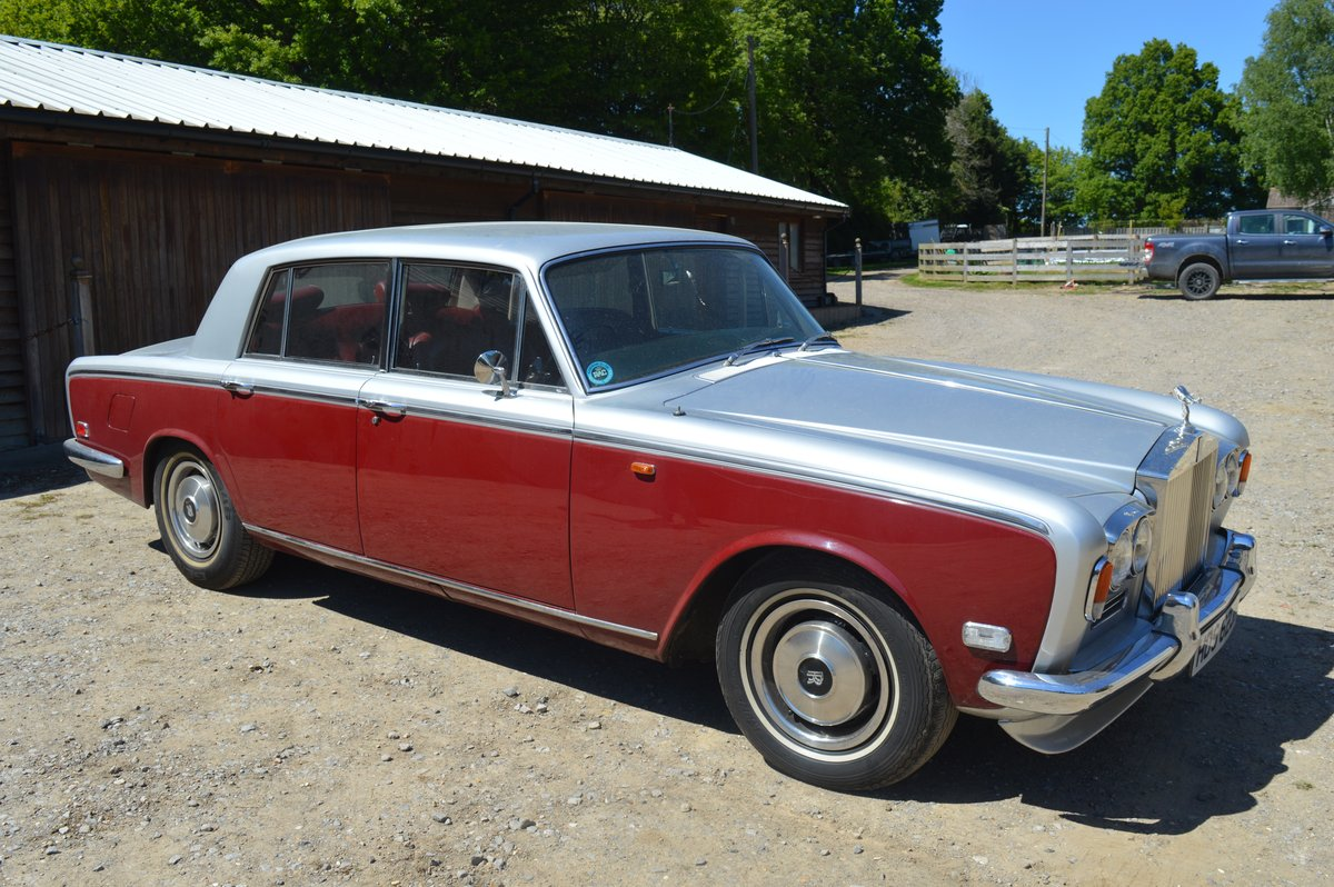1970 Rolls Royce Silver Shadow for Auction Friday 12th July For Sale by Auction (picture 1 of 6)