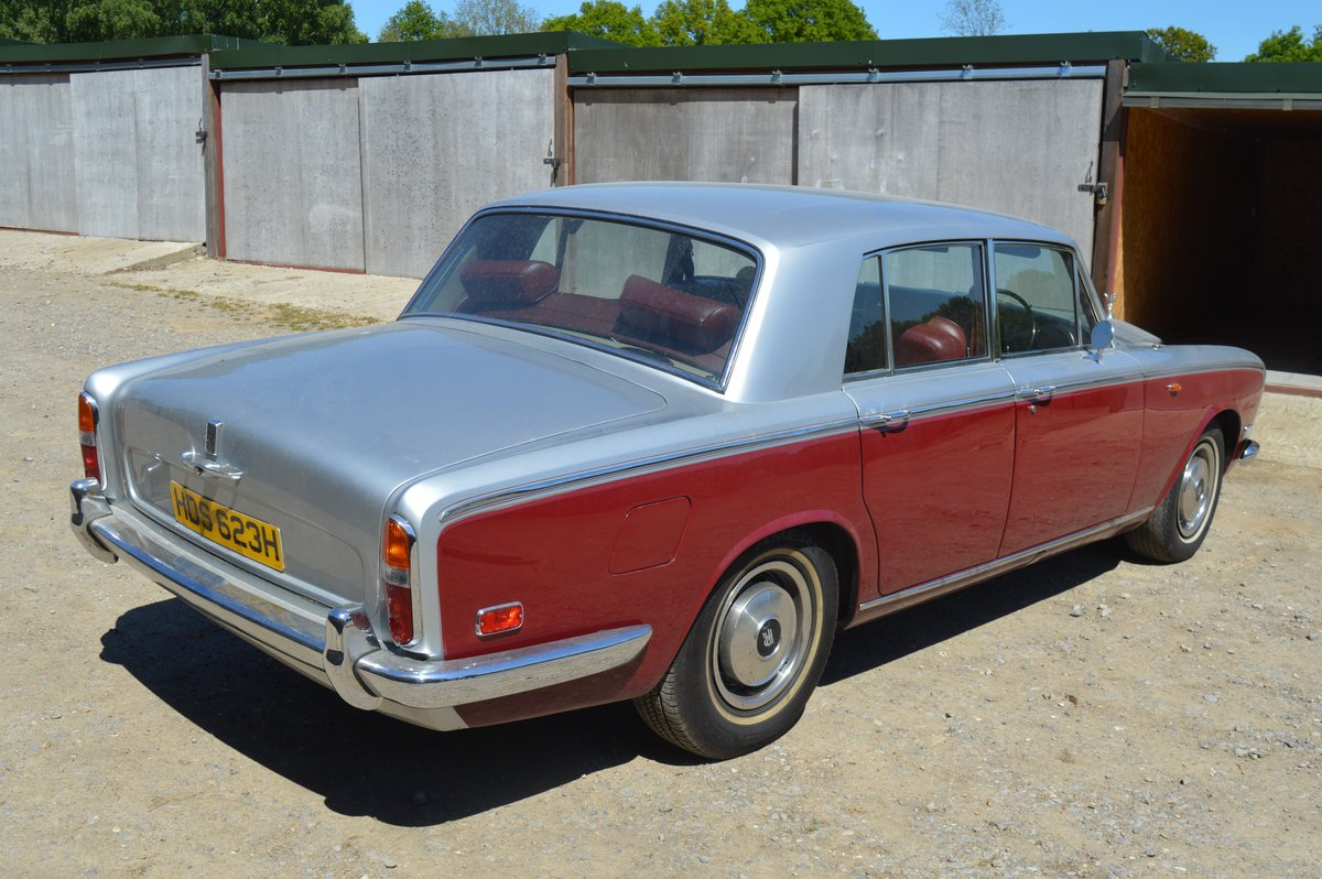 1970 Rolls Royce Silver Shadow for Auction Friday 12th July For Sale by Auction (picture 2 of 6)
