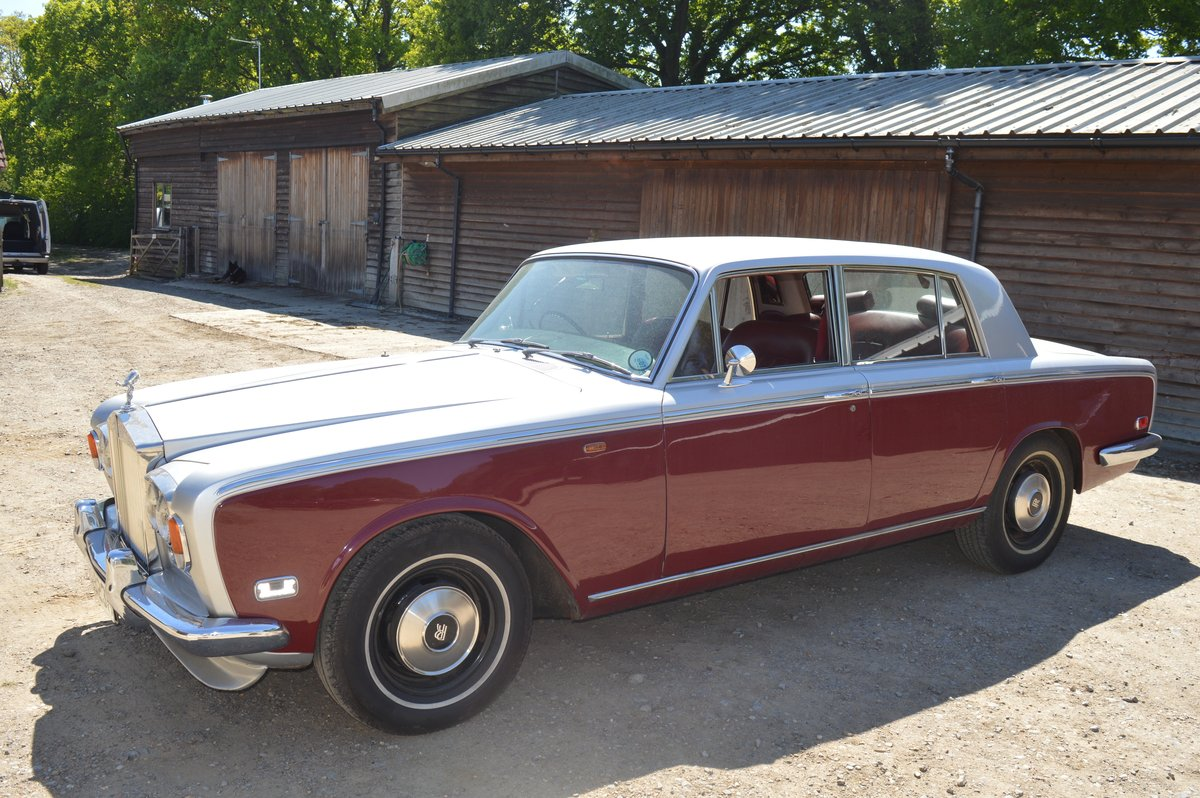 1970 Rolls Royce Silver Shadow for Auction Friday 12th July For Sale by Auction (picture 4 of 6)