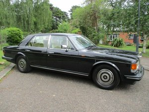 ROLLS ROYCE SILVER SPIRIT ABS/EFI   1988 18 k RESTORATION For Sale