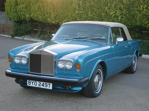 1979 Rolls-Royce Corniche II Convertible For Sale