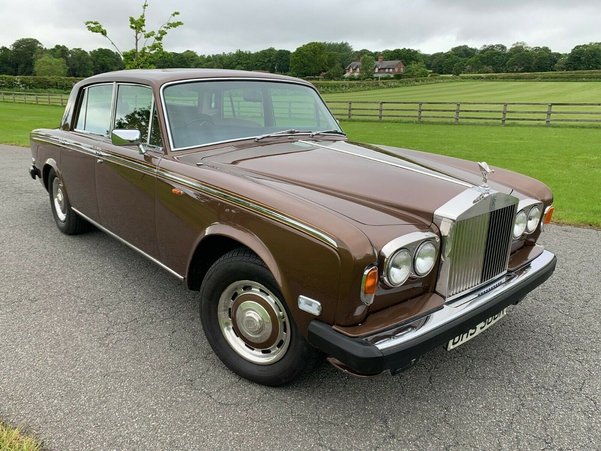 1977 Rolls Royce silver shadow II one family owned  For Sale (picture 1 of 6)
