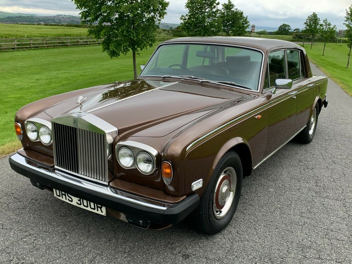 1977 Rolls Royce silver shadow II one family owned  For Sale (picture 2 of 6)