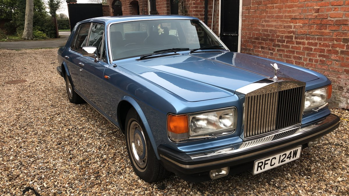 1981 26,614 miles Silver Spirit, Immaculate,MOT 09/2020 For Sale (picture 1 of 6)